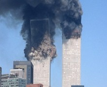 911 Twin Towers Collapsing - Isaiah 30 verse 25