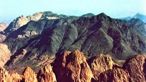 Mt Sinai Burnt Summit