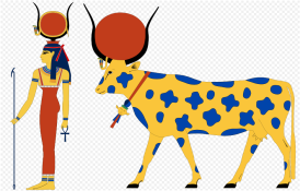 Hathor Cow Goddess