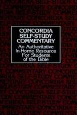 Concordia Self Study Commentary