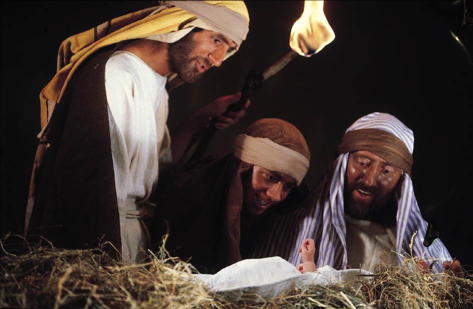 Shepherds and Jesus